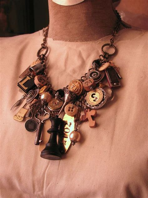 upcycle jewelry reserved upcycled jewelry mixed media loaded
