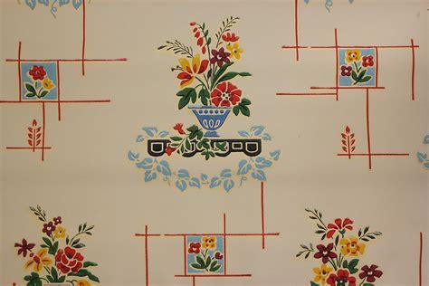 Retro Kitchen Wallpaper by Rosie S Vintage Wallpaper History Of Kitchen Wallpaper