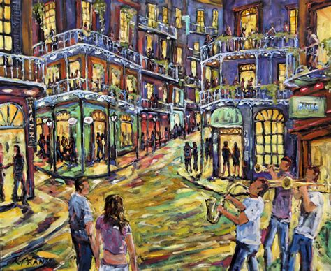 paint nite orleans new orleans jazz large painting sold