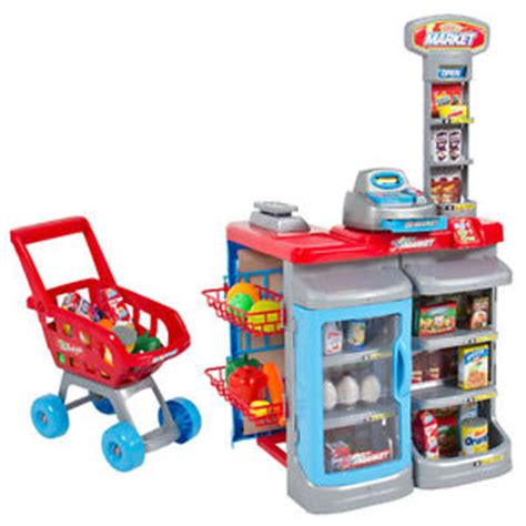 Play Store Register Pretend Playset Play Grocery Store Register
