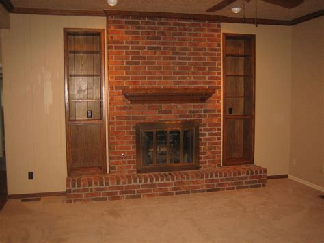 before and after updating a new house before after the fireplace again the