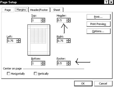how to create perfectly proportioned page margins margins do not fit paper size excel 2007 why won t excel