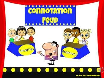 Connotation Feud Powerpoint Game For Secondary Tpt Family Feud Classroom