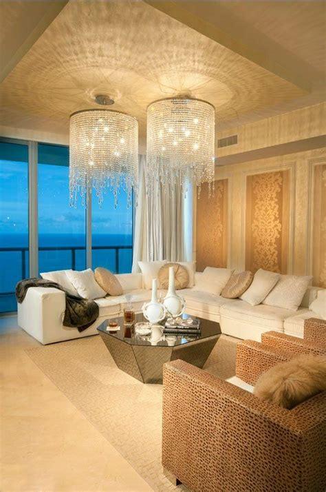 luxus wohnzimmer im einklang der mode