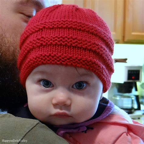 knitted baby beanie pattern free 1 2 3 knit baby beanie free pattern my hobby