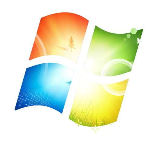 themes for windows 7 transparent 11 windows 7 logo icon images microsoft windows 7 logo