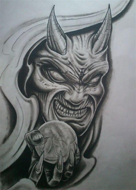 evil demon tattoo designs by karlinoboy on deviantart deviantart