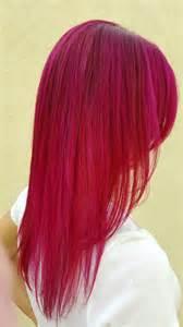 fuschia hair color the 25 best ideas about fuschia hair on