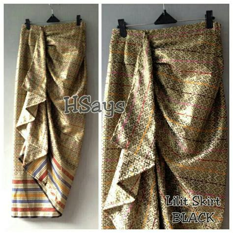 Rok Lilit 10 jual rok songket lilit skirt by hsays meldhisty