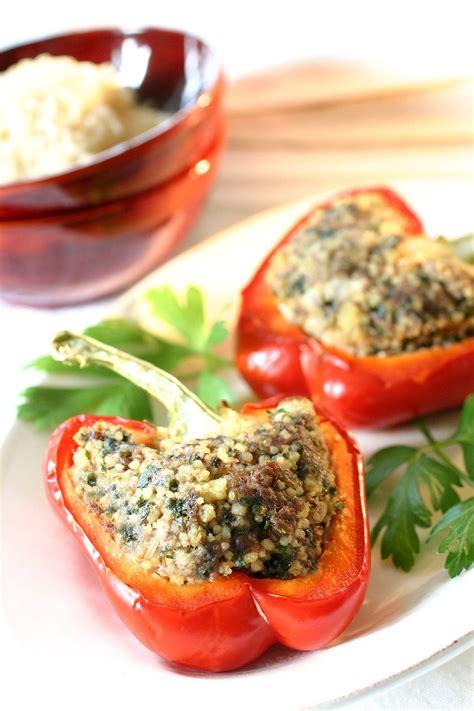 cuisine poivron recette poivrons farcis froids