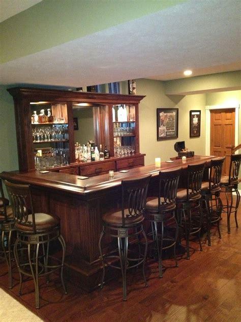hand crafted black walnut home bar  jeremy belanger