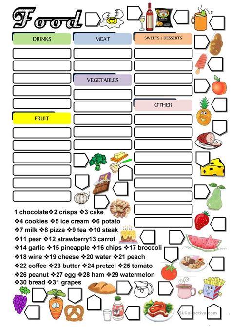 1951 free esl food worksheets 1963 free esl food worksheets