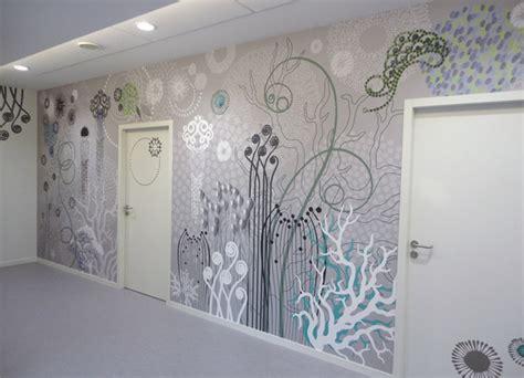Tapisserie Murale Contemporaine by Fresque Murale Originale 201 Clectique Rennes Par