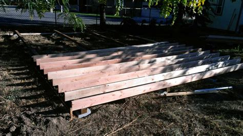 10 x 12 shed floor joists two story barn workshop