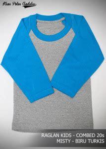 Kaos Baju Reglan Huf 02 Premium kaos polos anak cocok untuk sablon grosir kaos polos