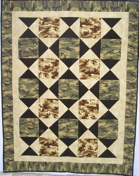 Camo Patchwork Quilt - 17 best ideas about camo quilt on camouflage