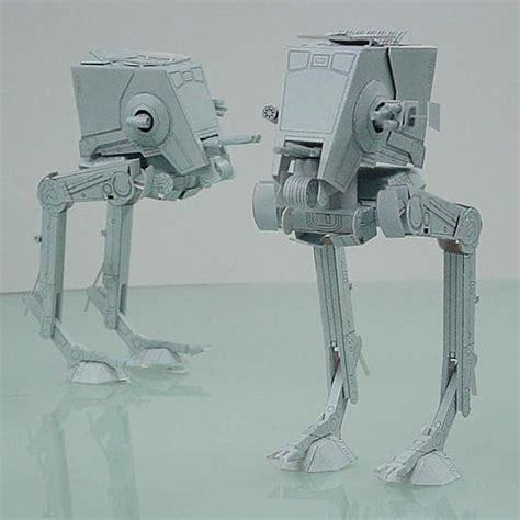 Papercraft At At - at st