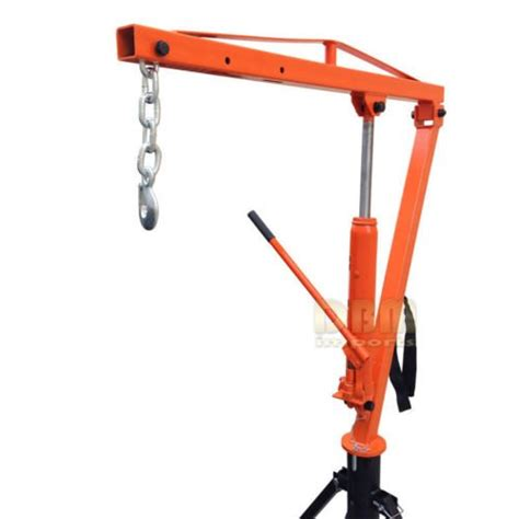 hydraulic hitch mounted truck crane hoist lift 1000 lbs