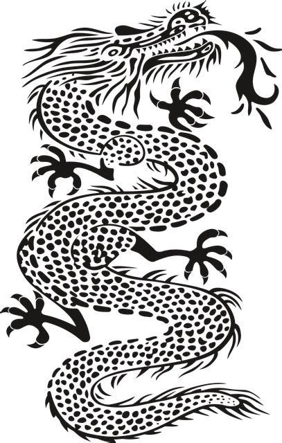 wallpaper hitam naga free photo black dragon teeth monster tattoo no background