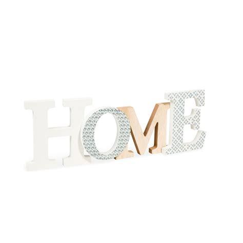 deko buchstaben holz deko schriftzug snow home aus holz 15 x 45 cm maisons
