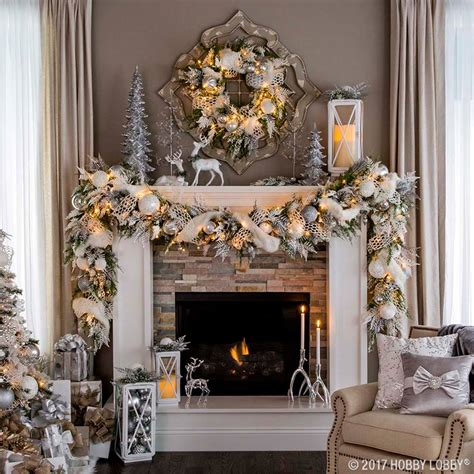 fireplace garland with christmas garlands for fireplace christmas decore