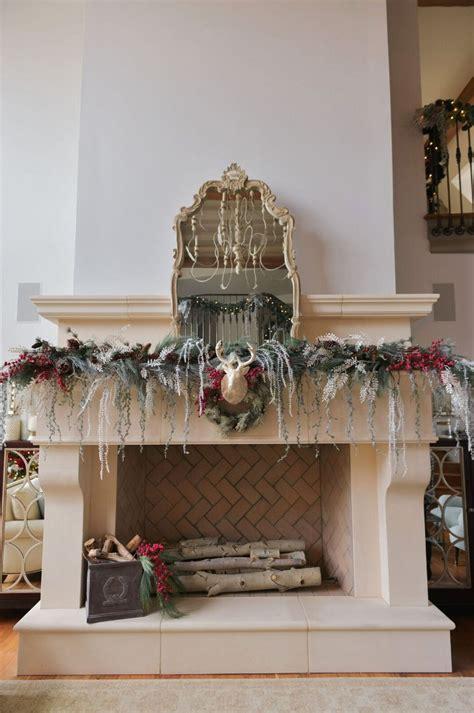 xmas decor for fireplace christmas decorating ideas home bunch interior design ideas