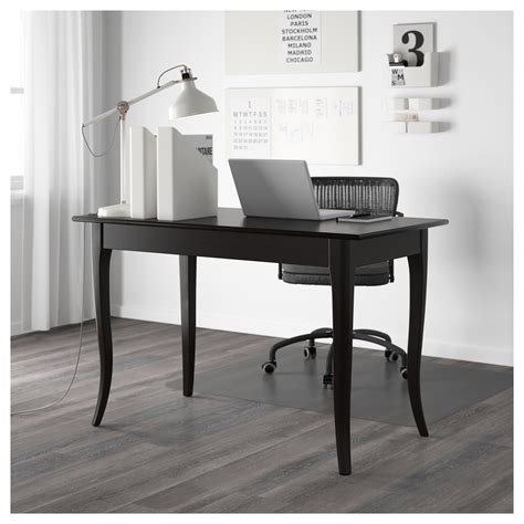 ikea desk black leksvik desk black 119x60 cm ikea