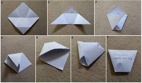 How To Make A Construction Paper Envelope - origami make your own origami envelopes any size folding