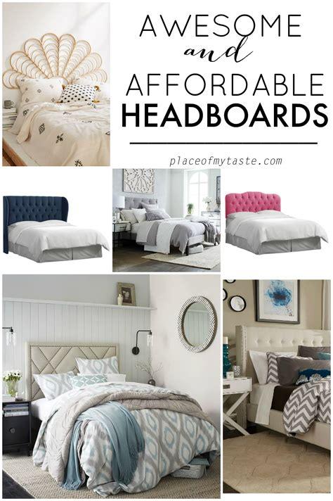 affordable tufted headboards awesome headboards place of my taste