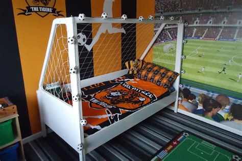 Football Bunk Beds Football Goal Theme Bed Novelty Boys Bed Created By Bedtime Bedz Bedtime Bedz