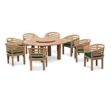 8 seater patio set titan 1 8m table with kensington