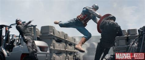 Captain America Fighting New Pictures From Marvel S Captain America The Winter Soldier