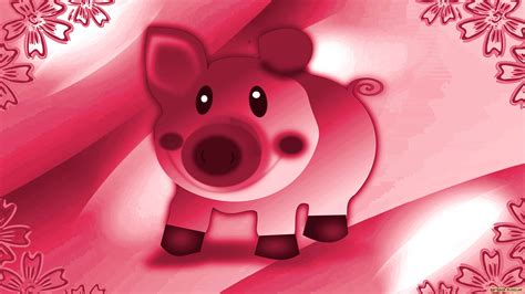 wallpaper pink pig pigs wallpapers barbaras hd wallpapers