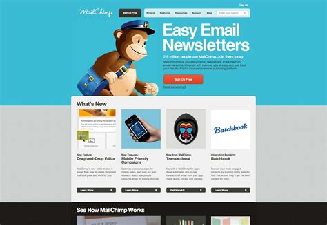 free templates for mailchimp 9 vital tools for shoestring startups webdesigner depot