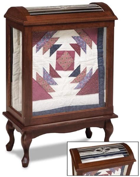 Small Quilt Rack by Small Enclosed Quilt Rack Amish Bedroom Furniture