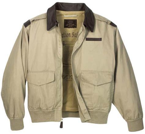 Jaket Typisch Original Katun 2 cotton a2 flight jacket