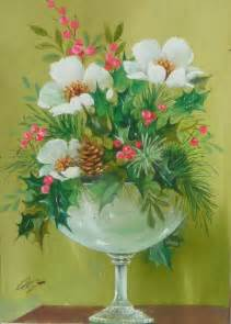 Flower Shops In Santa Monica - decorative still life watercolor painting of flowers