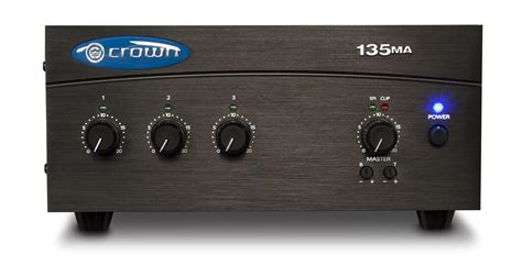 Crown Power Lifier Lifier Mixer Lifier | 135ma crown audio professional power amplifiers