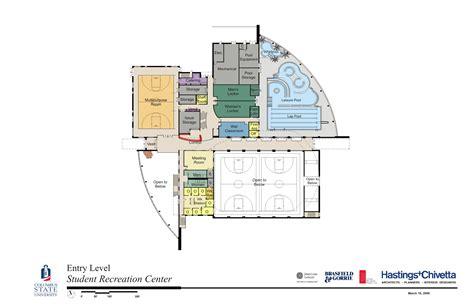 recreation center floor plans floor plans perspectives