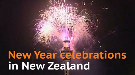 new zealand kicks off new year celebrations with fireworks