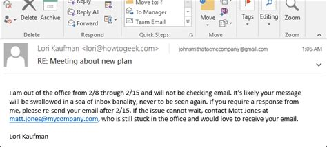 Maternity Leave Out Of Office by How To Set Up An Out Of Office Reply In Outlook For Windows