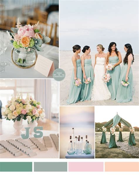 blue beach wedding ideas   Tulle & Chantilly Wedding Blog