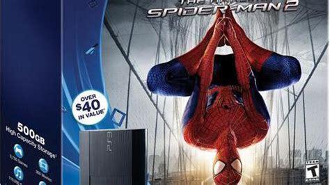 un bundle the amazing spider 2 sur ps3 aux us