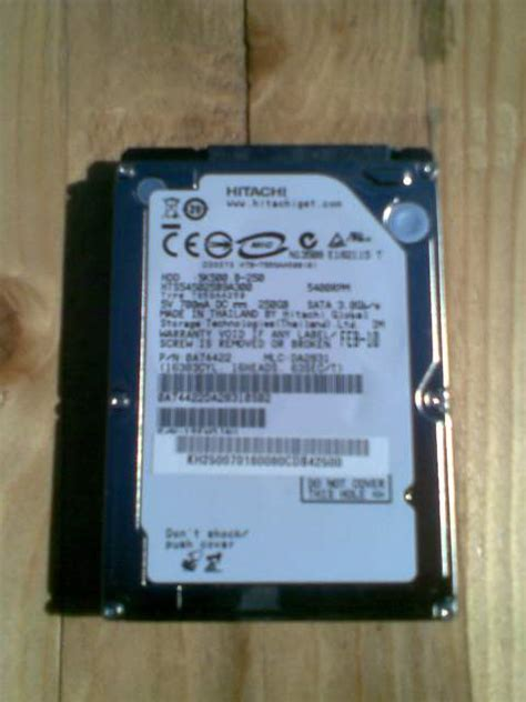 Hardisk 250gb Hitachi Disk 250gb Hitachi Travelstar A Varese Kijiji