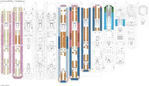 2 deck plan costa fascinosa deck plans diagrams pictures