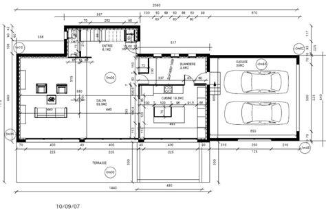 plan de cuisine centrale plan rez de chauss 233 e maison avec grand salon pour pi 232 ce 224