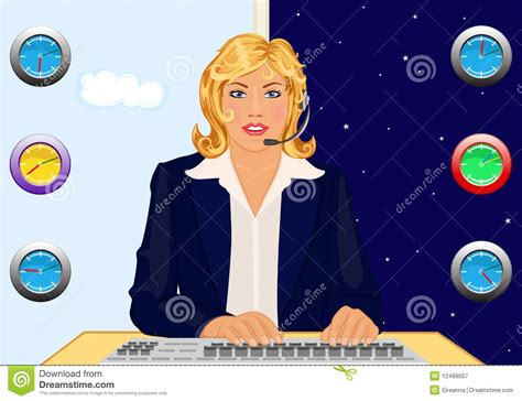 24 Hour Help Desk by Help Desk 24 Hours Royalty Free Stock Photography Image 12499057
