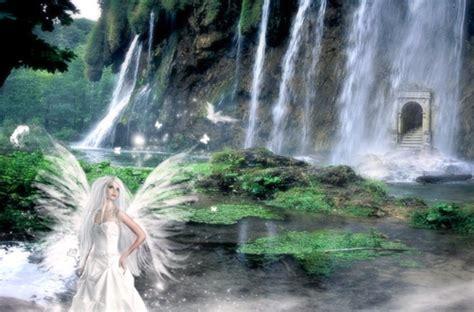 imagenes hadas blancas damas blancas hadas de los bosques nevados