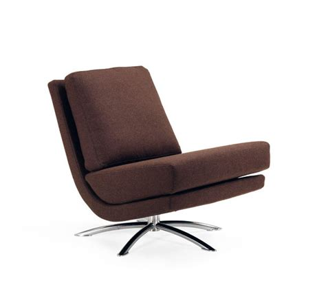Fjords Recliners fjords swivel fabric chair in brown fjords