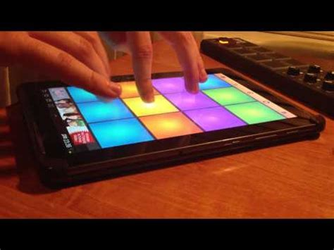 tutorial drum pad machine android drum pads 24 android youtube